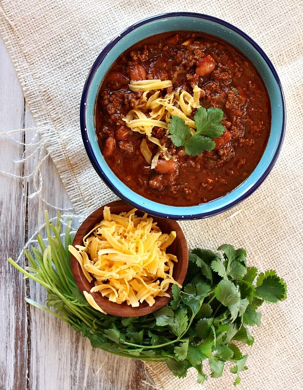 Halftime chili recipe girl the recipe forumfinder Image collections