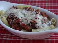 Pasta with Garden Bolognese Sauce