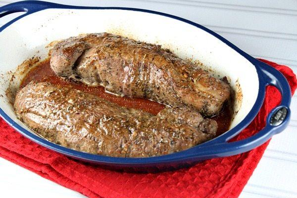 Sweet and Spicy Pork Tenderloin #recipe