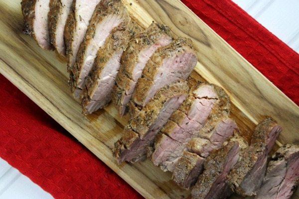 Sweet and Spicy Pork Tenderloin