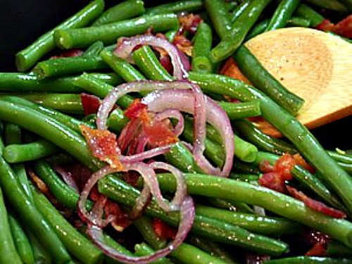 Garden Green Beans with Bacon