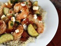 Greek Style Shrimp