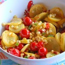 Summer Squash with Cherry Tomatoes