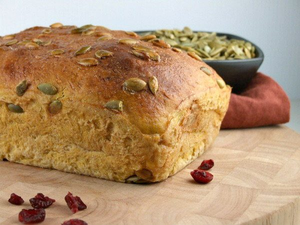 Loaf of Oatmeal Pumpkin Seed Bread