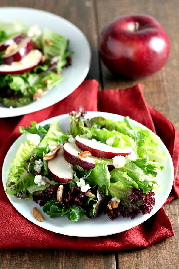 Autumn Salad Recipe - RecipeGirl.com