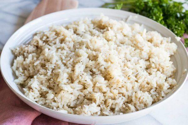 Brown Butter Rice recipe from RecipeGirl.com