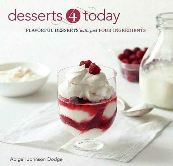 desserts 4 today cookbook cover