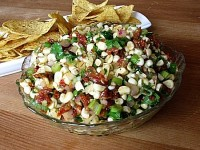 Fresh Corn and SunDried Tomato Salsa