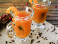 Hot Mulled Ginger Spiced Cider
