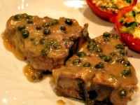 Lamb Chops in Caper Sauce Pic
