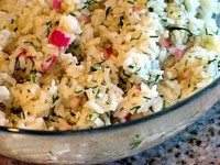 Lemon Dill Rice