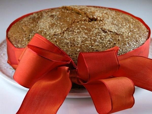 Pumpkin Polenta Cake 2