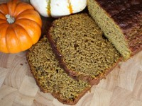 Whole Wheat Pumpkin Banana Bread