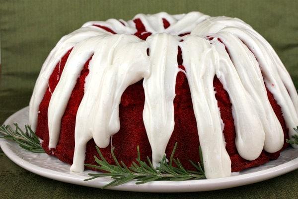 Cream Cheese Glaze For Red Velvet Bundt Cake