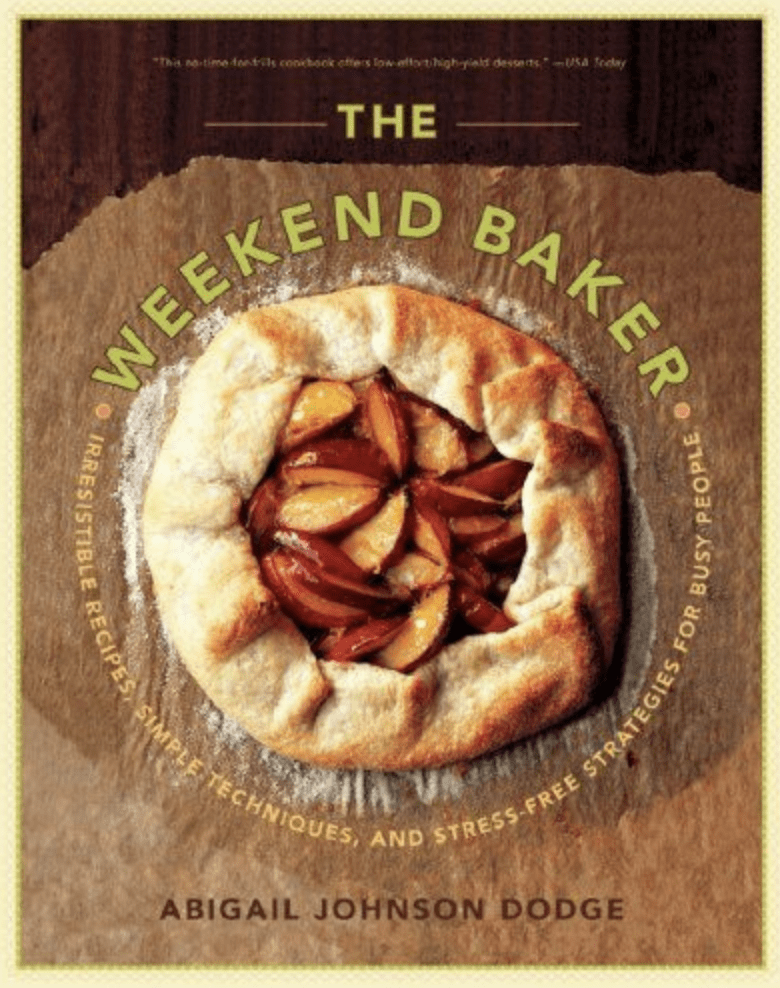 the weekend baker cookbook cover
