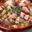 Smoked Ham Soup with White Beans 1