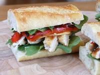Chicken & Arugula Sandwiches