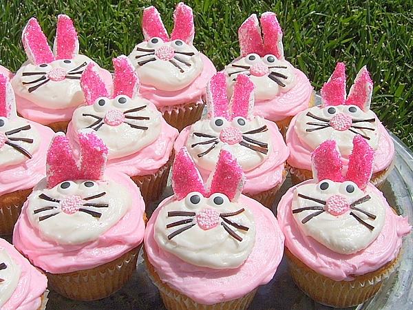 easy easter bunny cupcakes. easter bunny cupcakes cake.