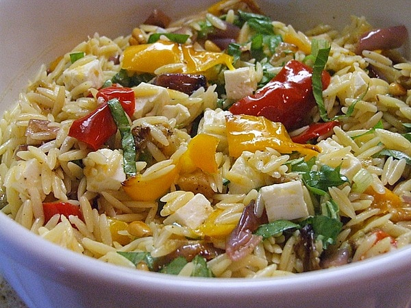 Ina Garten's Orzo with Roasted Vegetables