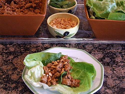 asian lettuce wraps