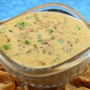 Cheesy Black Eyed Pea Dip