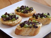 Greek Crostini