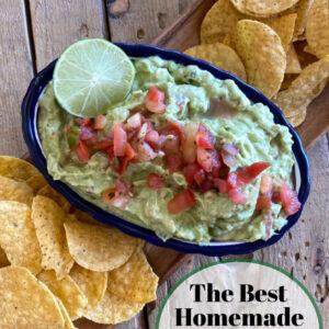 pinterest image for guacamole