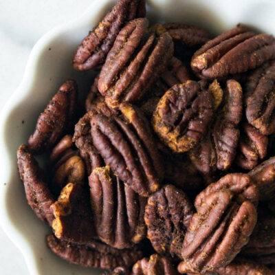 hot and spicy pecans