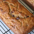 PB Choc Chip Banana Bread 2