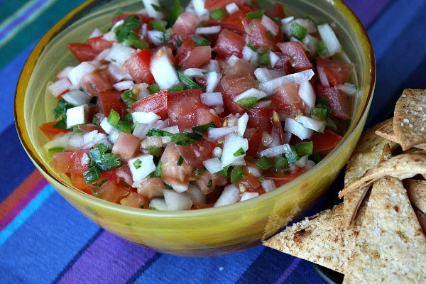 Easy, homemade Salsa Fresca recipe by Recipe Girl