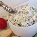 Vegetable Goat Cheese Dip
