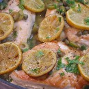 sauteed chicken with roasted lemons 6