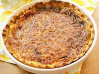 Blue Cheese and Walnut Quiche Pic