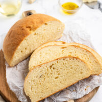 sliced cheese and wine bread