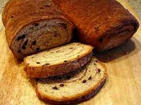 Cinnamon Currant Oatmeal Bread