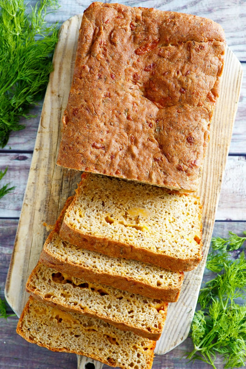 Dilled Cheddar Cheese Bread