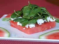 Grilled Watermelon Salad 1