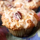 Maple Drizzled Apple Muffins 3