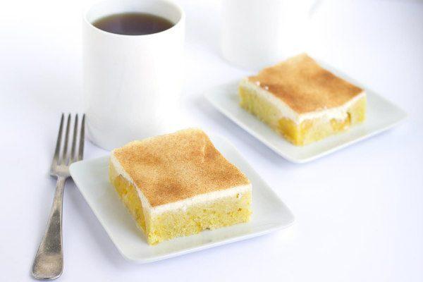 Peach Breakfast Cake recipe by RecipeGirl.com