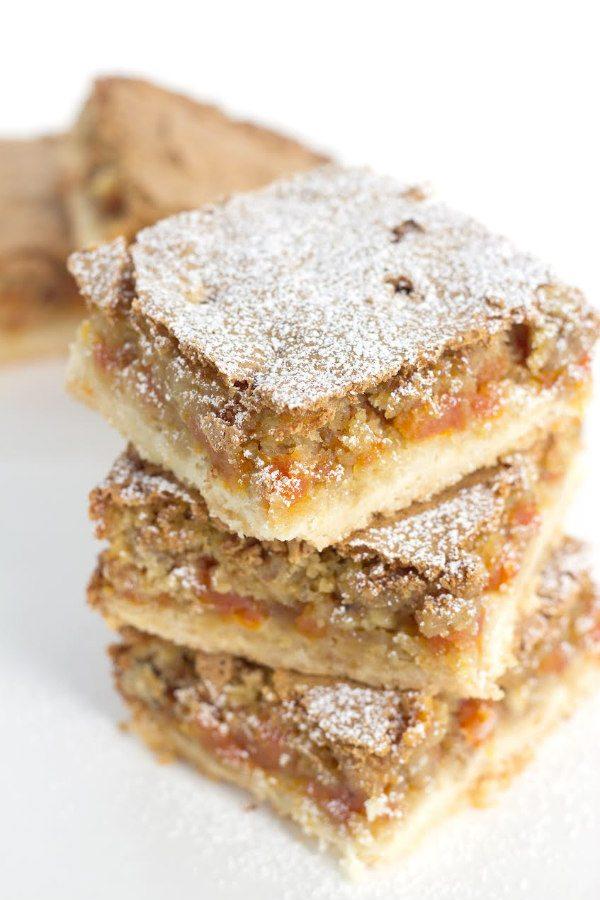 Apricot Bars recipe - by RecipeGirl.com