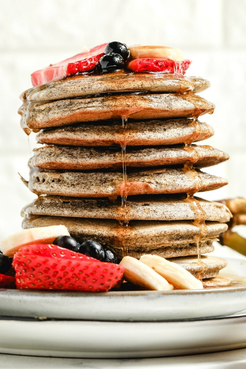 Light And Fluffy Buckwheat Pancakes Recipe Girl