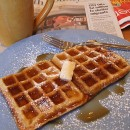 Buttermilk Brown Sugar Waffles