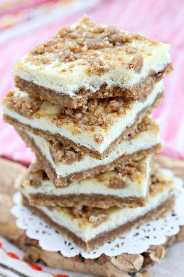 Cheesecake Squares Recipe - RecipeGirl.com