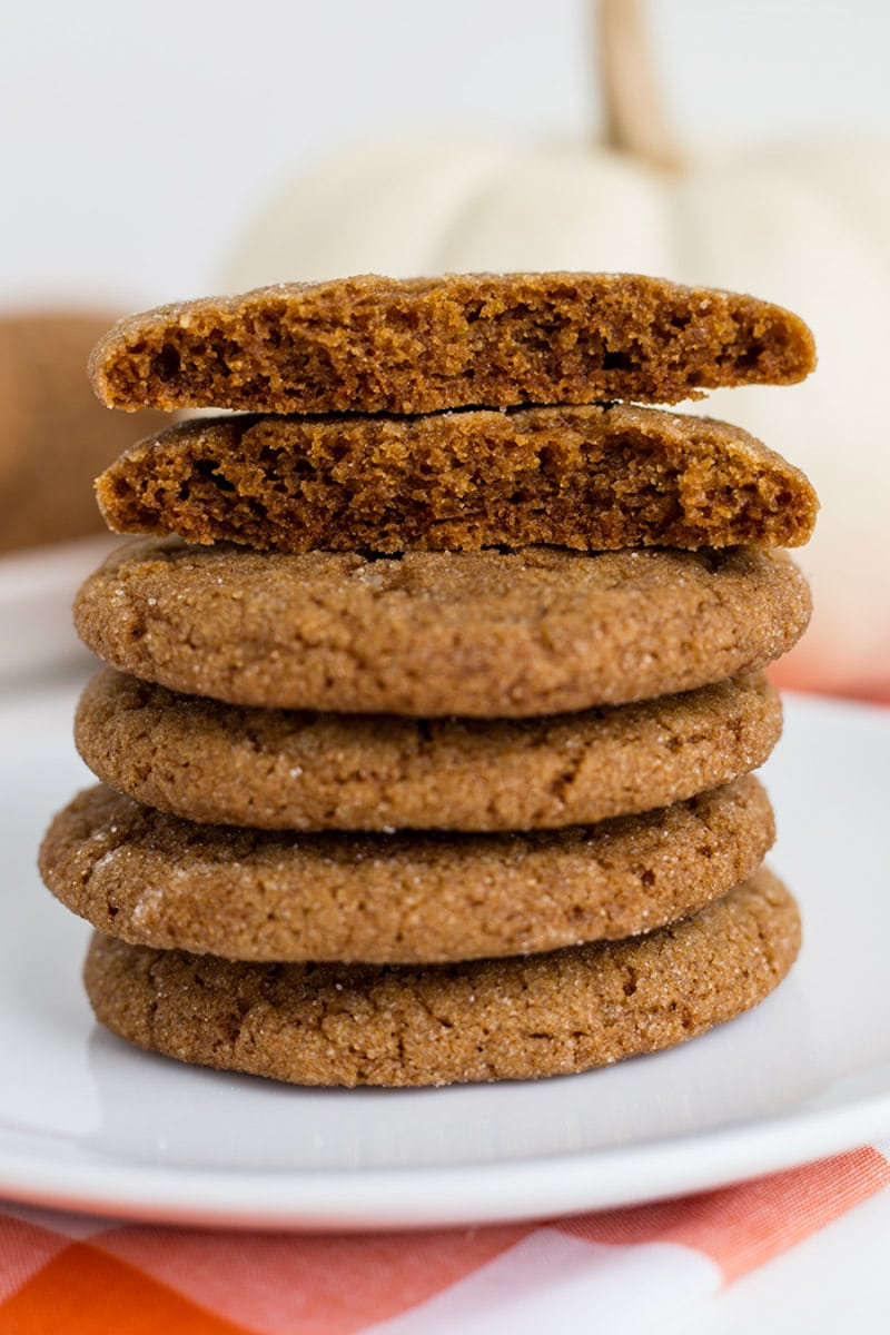 Chewy Molasses Spice Cookies Recipe Girl