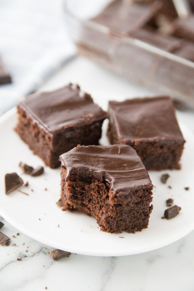 Bite of Chocolate Mascarpone Brownies