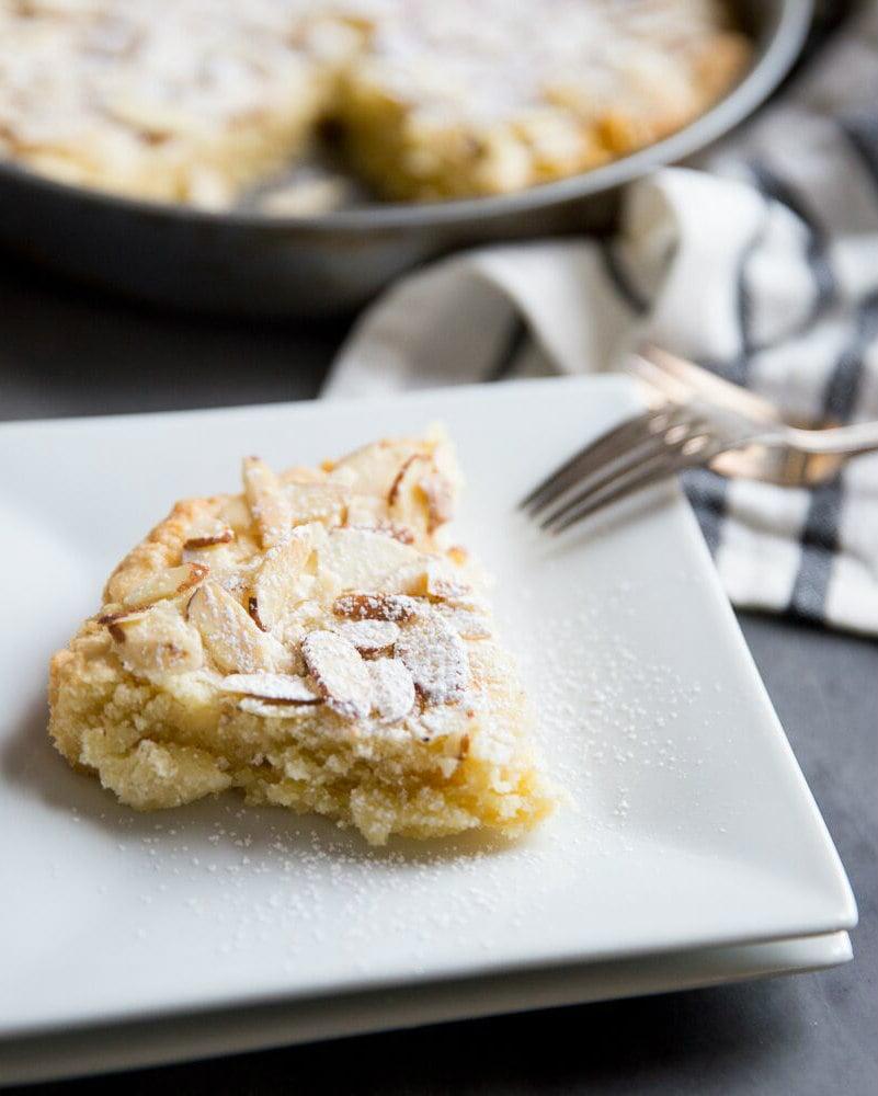 Slice of Almond Butter Cake