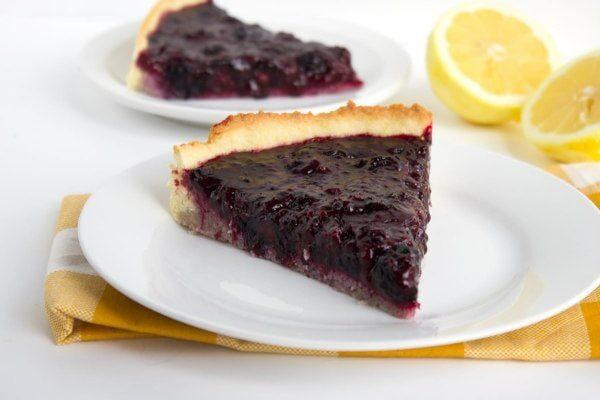 Fresh Blackberry Tart recipe from RecipeGirl.com