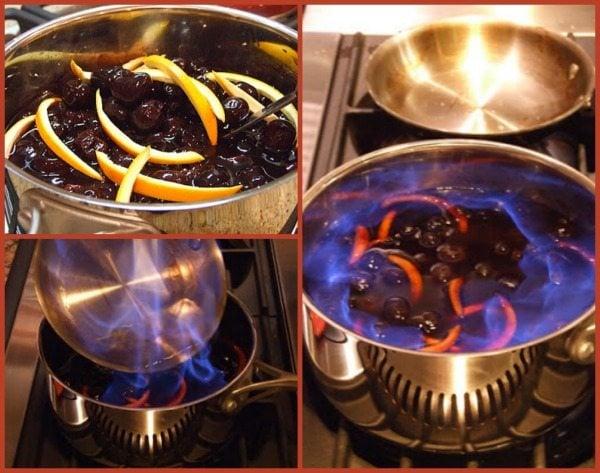 Cherries Jubilee Prep