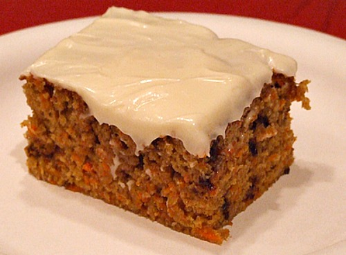 Chocolate Chip Carrot Cake Recipe