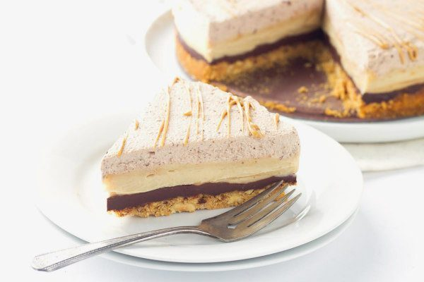 Chocolate Peanut Butter Pie recipe - from RecipeGirl.com